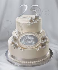 Image52 Anniversary 25th Marvelous Cakes Wedding For Parents Pics