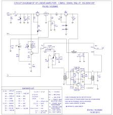 home brew corner pa150 hf linear 200w amplifier circuit diagram