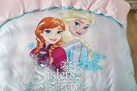 elsa anna sisters forever frozen bedding set