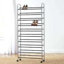 shoe shelf basics pair shoe rack shoe closet dimensions