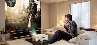 To Create Big Screen Cinema In Any Space Using Throw