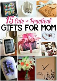 15 Cute & Practical DIY Gifts for Mom | Practical gifts, Gift and Crafts
