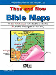 Rose Bible Maps And Charts Bible Maps Then And Now Series
