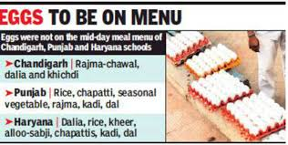 Punjab Haryana Ut To Provide Wholesome Meal Under Mid Day
