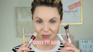 how to hide conceal under eye bags basic 101 elle leary artistry