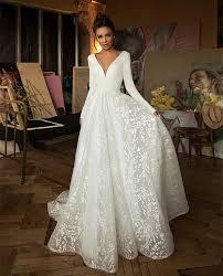 Permalink to View V Neck Wedding Dresses  Images