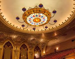 the world s largest led free hanging chandelier was designed engineered and installed by meyda lighting for the historic stanley center for the arts in