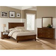 D-day - Cherry Bedroom Set Vaughan Bassett Furniture