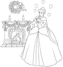 awesome disney princess coloring pages 9 b cinderella princess coloring pages for kids