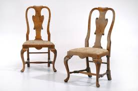 English Walnut Queen Anne Chairs Furniture Restoration and