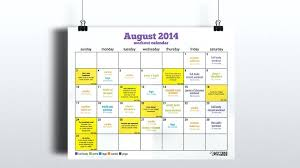 Make The Most Of Last Days Summer With Our August Workout Calendar ...