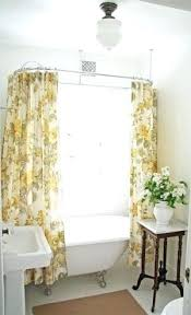 shower curtains for clawfoot tubs pleasurable inspiration shower curtain tub shelf built for bathtub inspirations clawfoot shower curtains