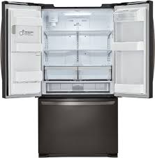 LG LFX25973D 36 Inch French Door Refrigerator with Slim SpacePlus ...
