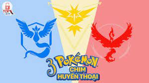Top 5 Bí Ẩn - 3 Pokemon Chim Huyền Thoại Trong Pokemon Go - YouTube