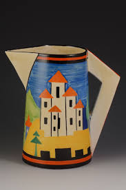 Clarice Cliff Jug Designs Andrew Muir Clarice Cliff Art Deco Pottery Moorcroft And