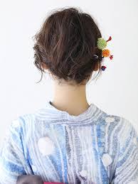 49 簡単浴衣に似合う髪型ショートヘアスタイル ヘア特集 All About