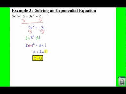 pc 3 4 notes example 3 solving an exponential equation