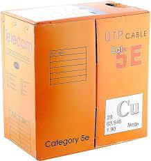 Купить <b>Кабель</b> Telecom CU UTP <b>4</b> ПАРЫ КАТ. 5E <UTP4 ...