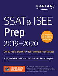 Ssat Isee Prep 2019 2020 4 Upper Middle Level Practice