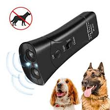 Zadyx Anti Barking Handheld 3 in 1 <b>Pet LED Ultrasonic Dog</b> Trainer