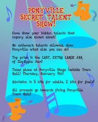 Talent Show Flyer MLPFIM Ponyville Talent Show Flyer By Thegneech On DeviantArt 18