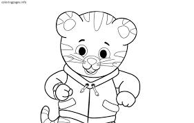 Coloring Pages Daniel Tiger Coloring Pages Printable Freeniel