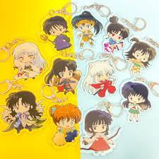 Mica trong acrylic ) Móc khóa INUYASHA KHUYỂN DẠ XOA VER TRANG PHỤC quà  tặng xinh xắn dễ thương in hình anime chibi chính hãng 10,000đ