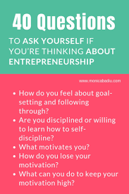 40 Questions To Ask Yourself If Youre Thinking About