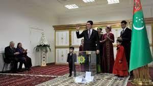 بردي محمدوف يفوز بولاية رئاسية ثالثة في تركمانستان