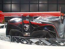 mazda furai interior. wing and exhaust in detail from the mazda furai on display at 2008 canadian international auto show interior
