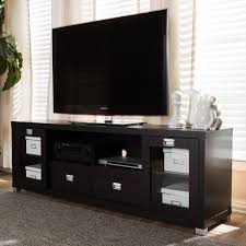 dark brown tv stand. Delighful Dark Baxton Studio Contemporary Dark BrownSilvertone WoodGlassMetal TV Stand With Brown Tv
