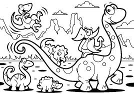 Realistic Dinosaur Coloring Pages Printable S Pdf Interactive