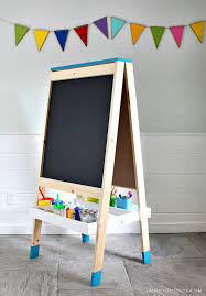 diy project build your own easel for kids plans by ana white com