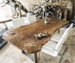 Der Tischonkel Tischplatte Esstisch Aus Einer Baumscheibe Lychee