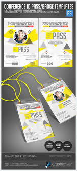 Event Badge Template Printing Name Badge Template Design To Match Invite And Signage