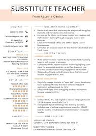 Elementary Teacher Resume Examples 2013 Resume Template