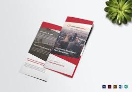 Microsoft Office Tri Fold Brochure Template Tri Fold Corporate Business Brochure Template Brochure Design