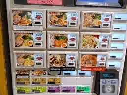 Buy Ramen Vending Machine Impressive Turn A Ramen Shop Into A Pasta Bar Giacomo Miceli