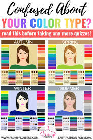 Simple Easy How Seasonal Color Analysis Works The