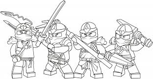 Small Picture Lego Ninjago Coloring Pages For Boys And Free Printable People