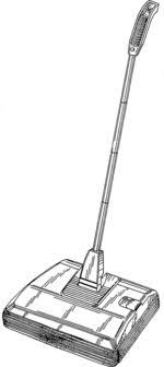 carpet sweeper. carpet sweeper a