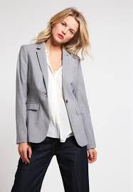 Light Gray Blazer Womens Banana Republic Blazer Light Grey Women Clothing Jackets