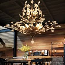 crystal chandelier tree branch pendant lamps vintage crystal chandeliers iron chandeliers modern living ceiling light lighting fixture blue chandelier