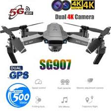 SG907 GPS Drone with 4K HD Dual Camera WIFI FPV RC ... - Vova