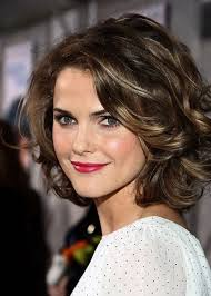 romantic short wavy curly hairstyle