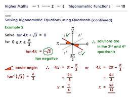 solve trigonometric functions math 3 note higher maths 1 2 3 trigonometric functions math solve trigonometric