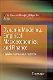 finance essays buy dynamic modeling empirical macroeconomics and finance