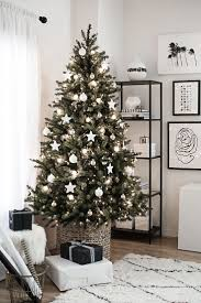Glamorous Christmas Tree With White Decorations 17 With Additional Decoration  Ideas Design with Christmas Tree With