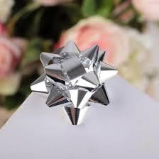 <b>Бант</b>-<b>звезда</b> №5 металлик (<b>набор</b> 12 шт), цвета ассорти (817199 ...
