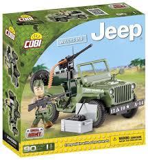 <b>Конструктор Cobi</b> 24092 Армейский Джип с одной фигуркой ...